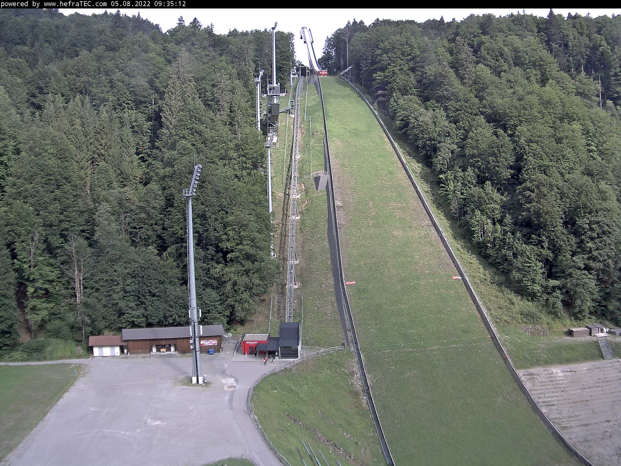 Webcam: Skiflugschanze